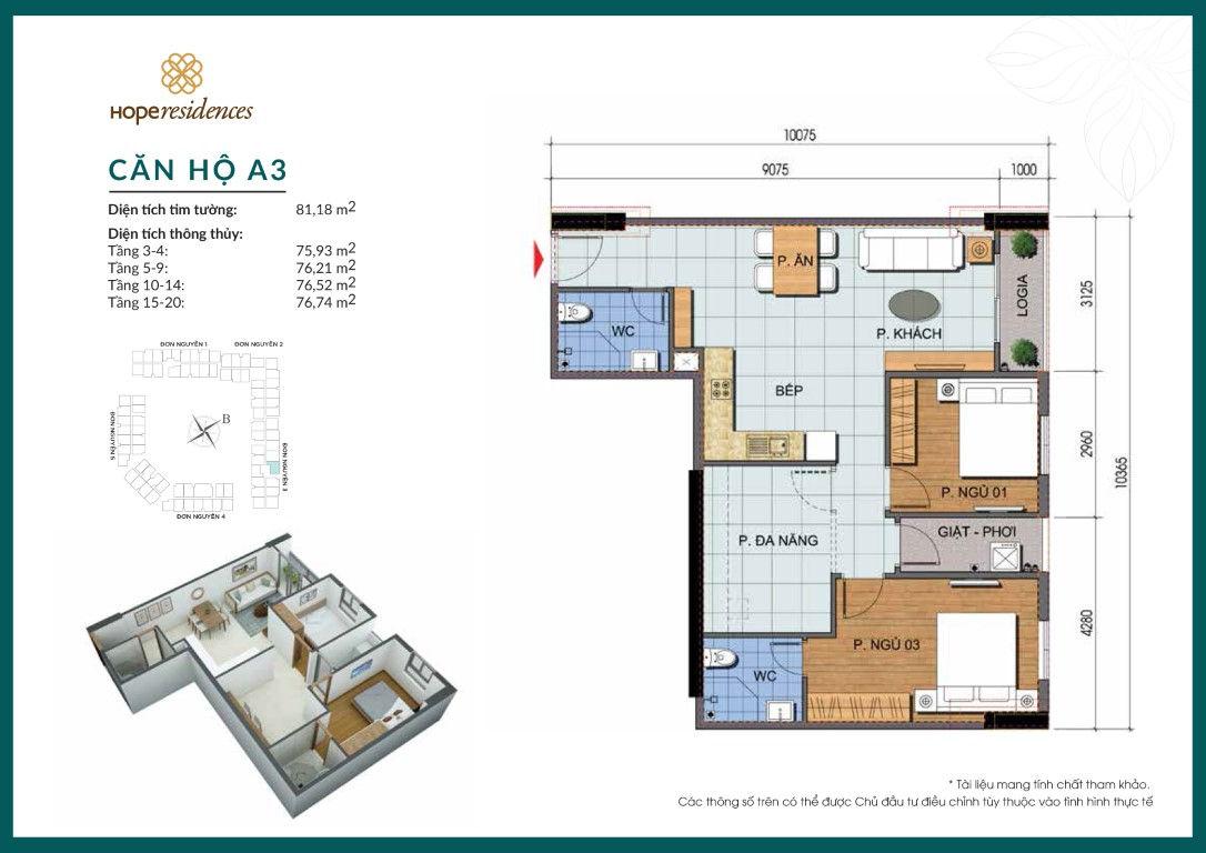 A3-Hope residences