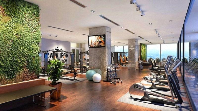 Phòng tập Gym ngay trong chung cư DLC Complex